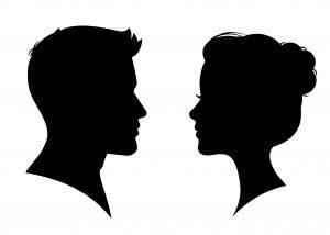 男女の画像
