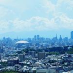 名古屋市郊外の風景