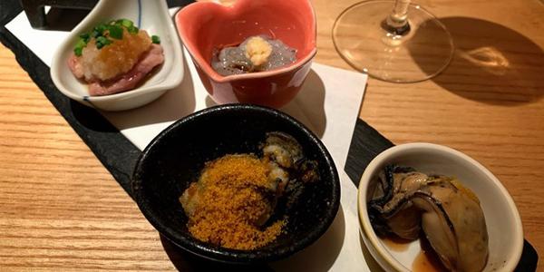 牡蠣のマリアージュ