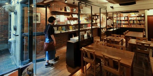 パパ活アプリで使えるRainy Day Bookstore & Cafe