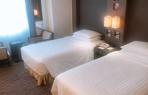コートヤード・マリオット 銀座東武ホテルのベッドルーム