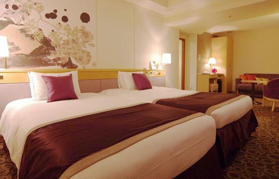 銀座クレストンのベッドルーム