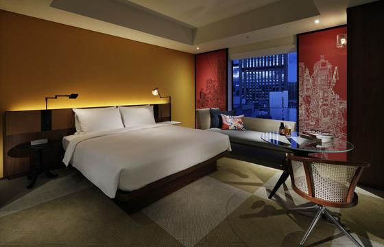ハイアット セントリック銀座東京のベッドルーム