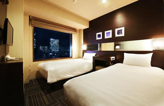 新宿プリンスホテルの室内