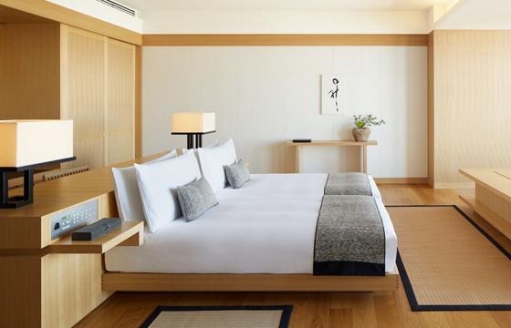 アマン東京の室内