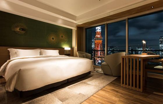 ザ・プリンス パークタワー東京のベッドルーム