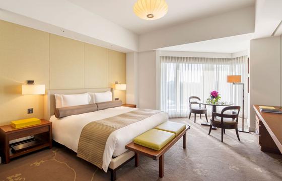 パレスホテル東京の室内